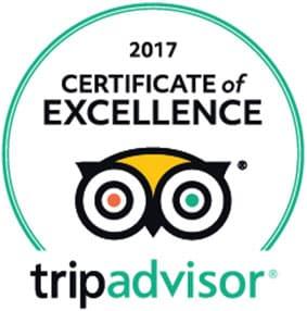 Tripadvisor Certificate of excellence - anmeldelser af Vietnam Rejser