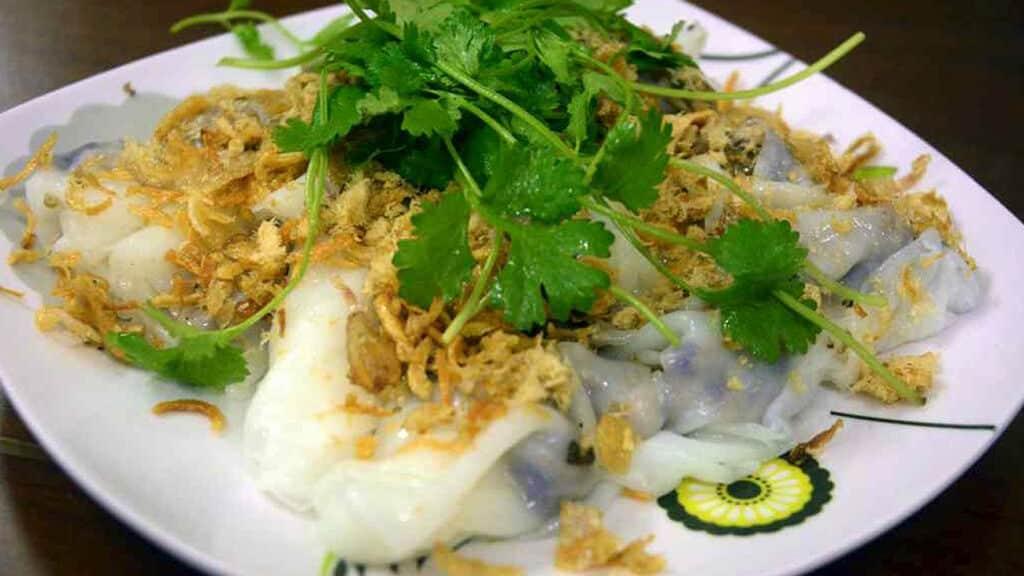 vietnamesisk mad - banh cuon