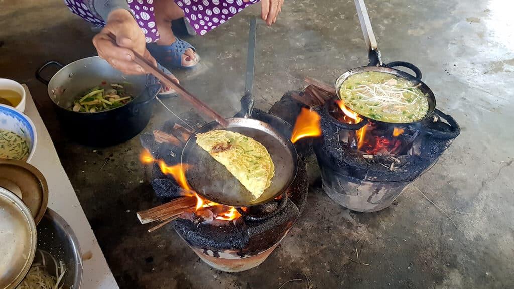 vietnamesisk mad - banh xeo