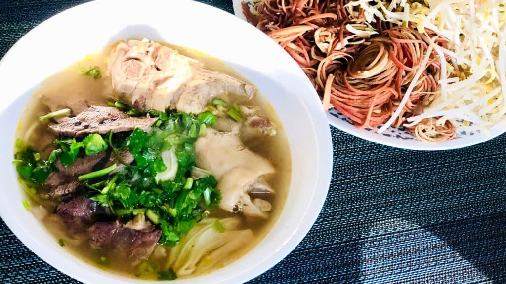 vietnamesisk mad - bun bo