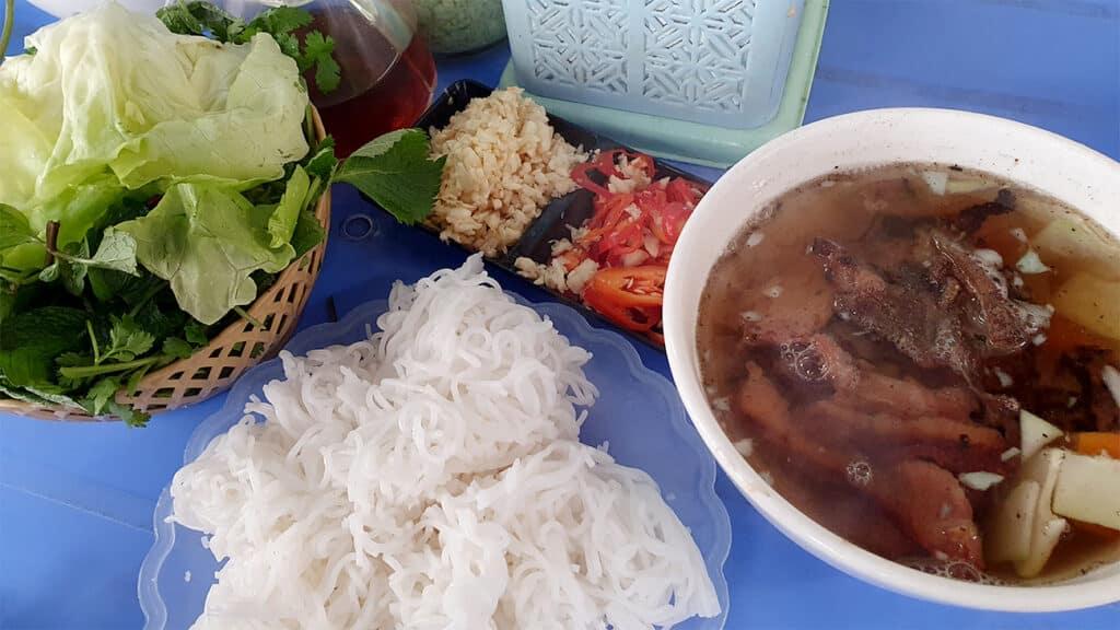 vietnamesisk mad - bun cha