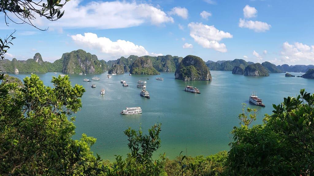 Halong Bay - Udsigt over Halong Bay