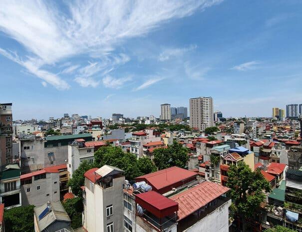 Udsigt over Hanoi.