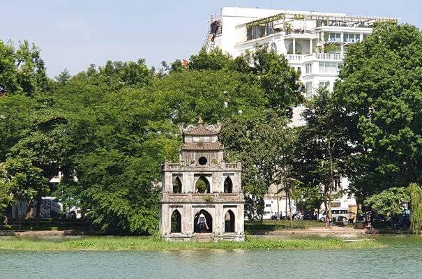 Hanoi - i centrum af Hanoi findes Hoan Kiem søen