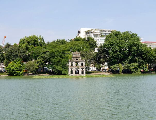 Hoan Kiem søen i Hanoi