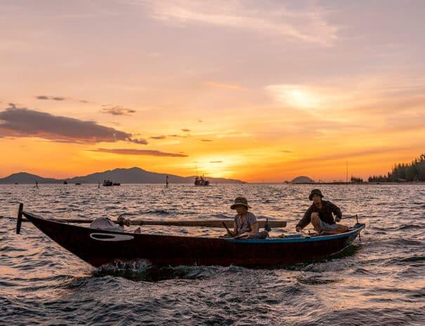 Hoi An Sunrise tur - Solopgang fra havet