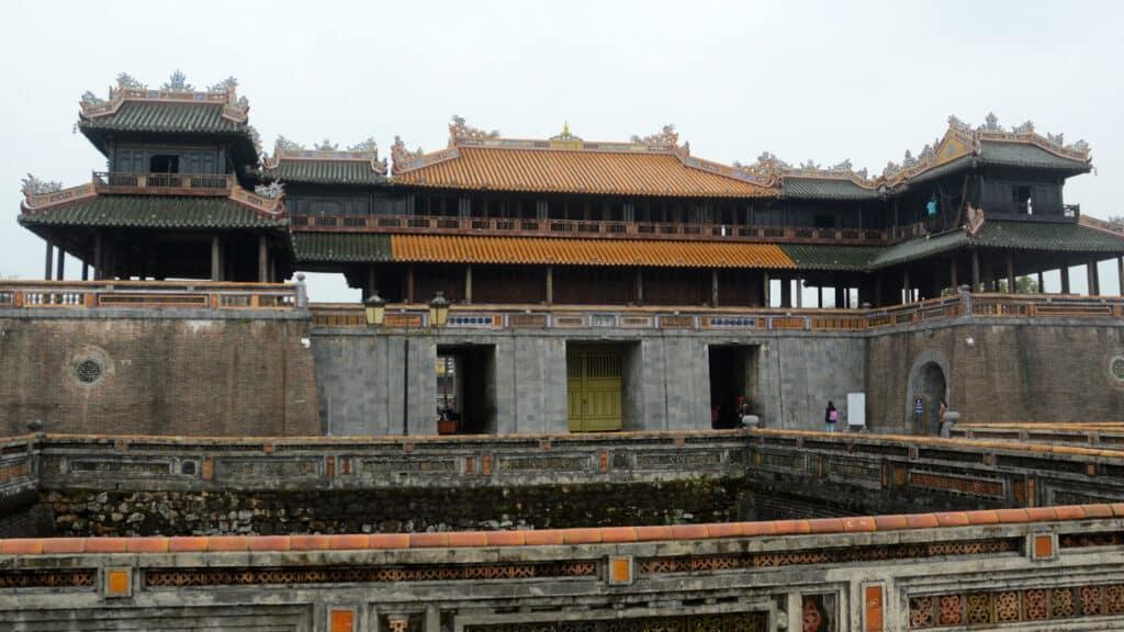 Hue city tur - Det gamle kejserlige kongelige palads