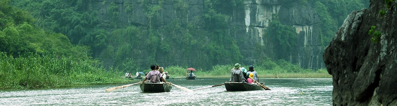 Ninh Binh, Vietnam.