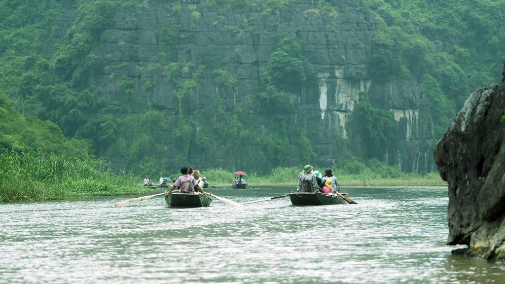 Hoa Lu og Tam Coc - Sejl på floden og se den flotte natur