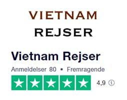 Trustpilot anmeldelser af Vietnam Rejser