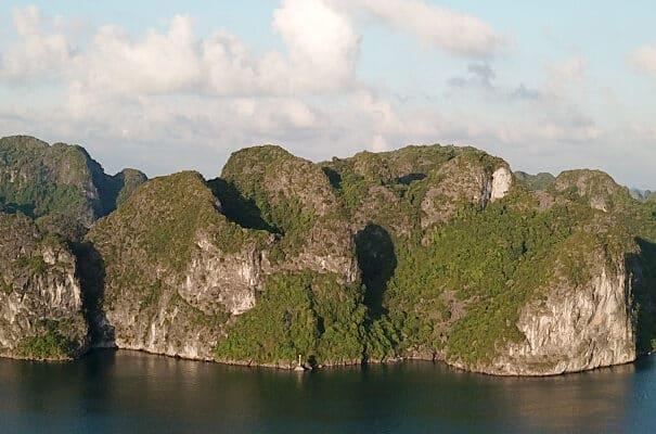 Ture i Vietnam - Halong Bay