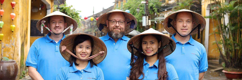 Alle medarbejdere hos Vietnam Rejser